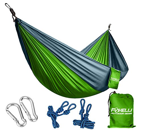 Foxelli Camping Hammock Ultralight Backpacking product image