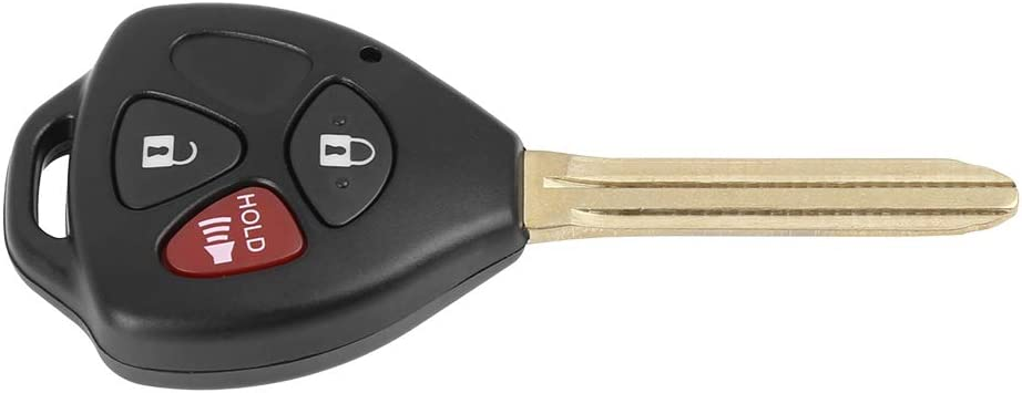 X AUTOHAUX Car Keyless Remote Flip Key Fob 312Mhz MOZB41TG4D-67 for 2005-2013 Scion Toyota