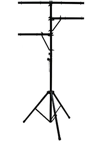 ASC Pro Audio Mobile DJ Light Stand Multi Arm Lighting T Bar Portable Tripod up to  sc 1 st  Amazon.com & Amazon.com: ASC Pro Audio Mobile DJ Light Stand Multi Arm Lighting ... azcodes.com
