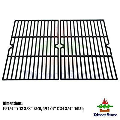 Direct store Parts DC107 Porcelain Cast Iron Cooking grid Replacement Charmglow,Jenn-Air,Weber,BBQ Grillware,Costco Kirkland,Aussie,Grill Zone,Kenmore,Nexgrill......Gas Grill