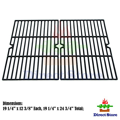 Direct store Parts DC107 Porcelain Cast Iron Cooking grid Replacement Charmglow,Jenn-Air,Weber,BBQ Grillware,Costco Kirkland,Aussie,Grill Zone,Kenmore,Nexgrill……Gas Grill