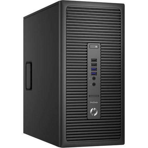 Photo - HP ProDesk 600 G2 Microtower Desktop, Intel Quad-Core i7 Upto 4.0GHz 16GB DDR4, 1TB SSHD, DVD-RW, Windows 10 Professional 64Bit