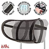 Bartka: Travel Neck Pillow - Neck Support Pillow - Car seat Head Support - Shoulder Support - Best Pillow for Neck Support - Mesh Neck Support - Headrest Pillow