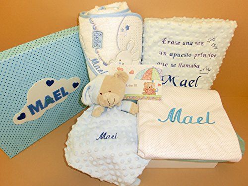 Set Regalo Bebé - Canastillas personalizadas para niño o niña, el ...