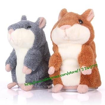 Amazon.com: Woody o time Repetir Talking Hamster Ruso ...