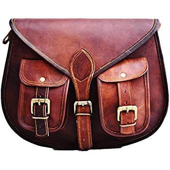 1f7ee2b42 S&F Leather Purse Designer Crossbody Shoulder Bag Travel Satchel Women  Handbag Ipad Bag