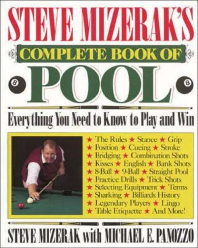 Steve Mizerak's Complete Book of Pool - Mizerak Billiards Balls