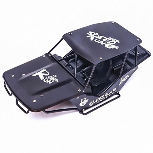 Shybuy High Speed 30mph 4x4 Fast Race Cars1:24 RC Scale RTR Racing 4wd Electric Power Buggy W/2.4g Radio Remote Control Off Road Cross Country Vehicle (Black) by Shybuy