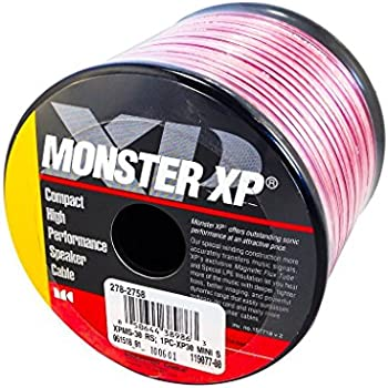 monster cable xp speaker wire how to tell positive negative