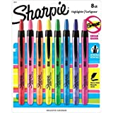 Sharpie Accent Retractable Highlighters, Assorted, Fine Point, 24/Pack by Sharpie