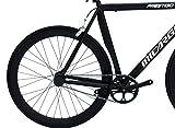 Micargi-PRESTIGIO-58-MBKBK-Fixed-Bike-700C-58cm-Aluminum-Bicycle-Matte-Black