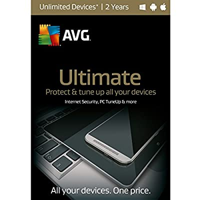 AVG Ultimate | Unlimited Devices| 2 Years Twister Parent
