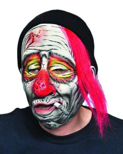 Zagone Whiskey the Clown Mask, Drunk Man Cigarette Knit Cap