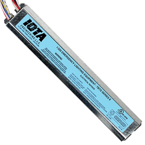 Reduced Profile Emergency Backup Battery - 90 min. - Operates Most 2 ft. - 8 ft. single, bipin, T8 and T12, HO or VHO and 2 ft. - 4 ft. ()