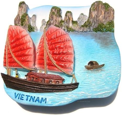 Halong Bucht Vietnam MOD1 Fridge Magnet Souvenir Magnet Kühlschrank