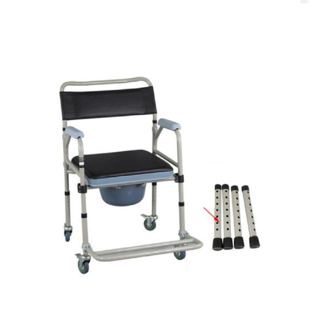Round toilet seat for the elderly mobile folding the toilet chairs wheelchairs Folding Commode