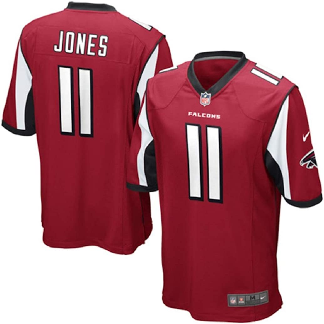 Red Nike NFL Youth Atlanta Falcons Julio Jones # 11 Game Jersey
