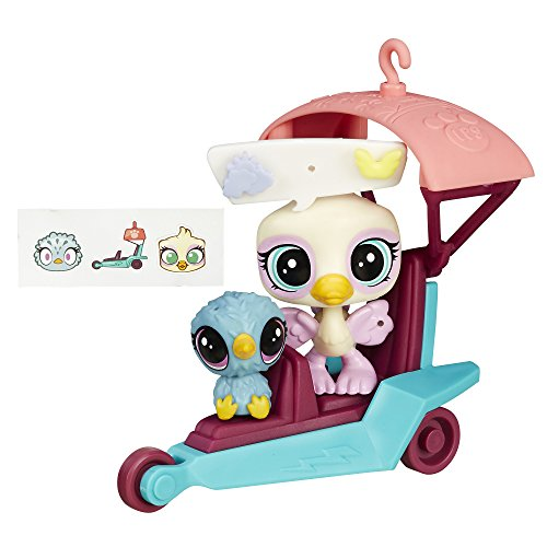 Littlest Pet Shop City Rides Ostrich and Kiwi Glider - Littlest Pet Shop Kiwi