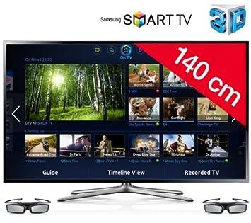 SAMSUNG Televisor LED 3D Smart TV UE55F6400 + Sistema de cine en ...