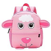 Perman Zoo Pack Little Kid & Toddler Cartoon Backpack