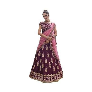 Amazon Com Purple Wedding Reception Embroidered Silk