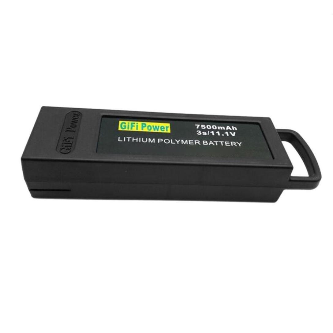 Familizo-giocattolo Fami- 1PCS Gifi Power Lightweight Compact 11.1V 1700mAh 18.87Wh For Yuneec Breeze (Nero)