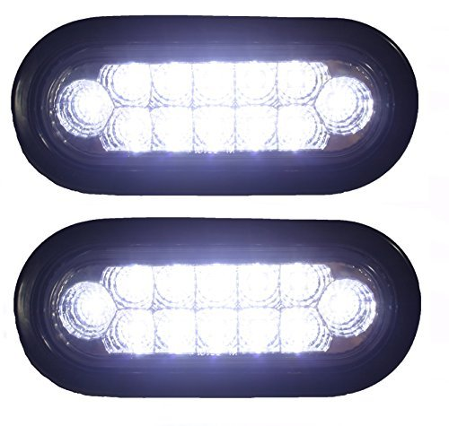 6 Oval Led Tail Lights in US - 9