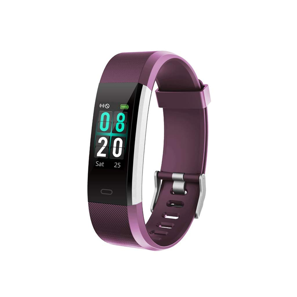 Smart Wristband Blood Pressure Heart Rate Monitor Bluetooth Fitness Watch