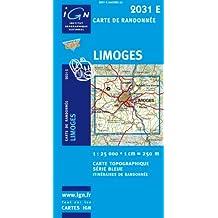 Limoges GPS: IGN2031E
