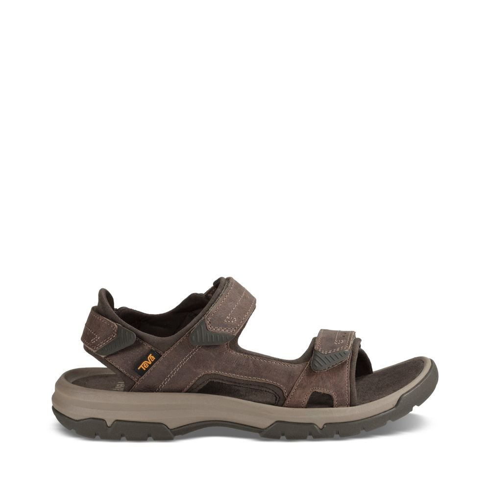Teva Men's M Langdon Sandal, Walnut, 10 M US