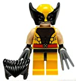lego marvel xmen - LEGO X-Men Marvel Super Heroes Wolverine Minifigure with Hair & Claws (76022)