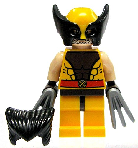 (LEGO X-Men Marvel Super Heroes Wolverine Minifigure with Hair & Claws (76022))