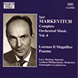 Markévitch: Complete Orchestra Music Vol. 4