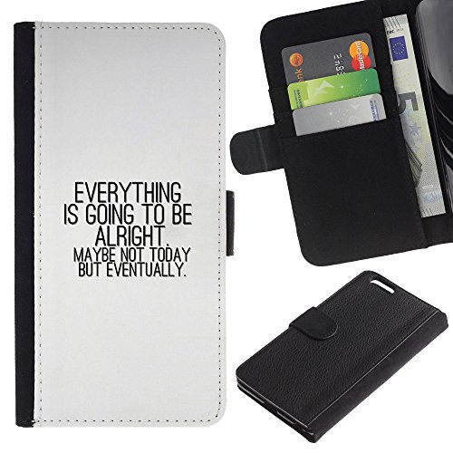 OMEGA Case / Apple Iphone 6 PLUS 5.5 / PHILIPPIANS 4:13 I CAN DO EVERYTHING / Cuir PU Portefeuille Coverture Shell Armure Coque Coq Cas Etui Housse Case Cover Wallet Credit Card