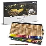 LYRA Rembrandt Aquarell Artists' Colored Pencils, Set of 72 Pencils, Assorted Colors (2011720)