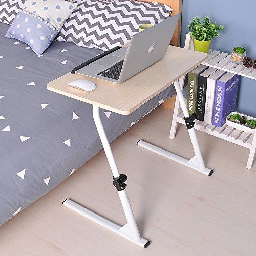 Soges 31.5″ Adjustable Laptop Desk Portable Laptop Table Computer Stand Notebook Desk Side ...