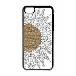 Good mood with sunflower Case Cover Best For Iphone 5c KHR-U551517