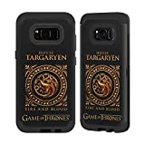 Official HBO Game Of Thrones Metallic Sigils - Targaryen Various Designs Black Sentry Case for Samsung Galaxy S8