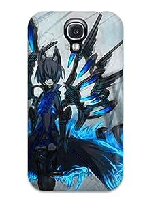 Brand New S4 Defender Case For Galaxy (animal Ears Fire Original Shiroganeusagi Tail Thighhighs Zettai Ryouiki)