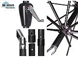 Blissun Patio Umbrella Aluminum Manual Push