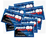 Caffeine and D-Ribose Energy Mints - 100mg Caffeine per mint - 8 Pouches - Fresh Mint Flavor