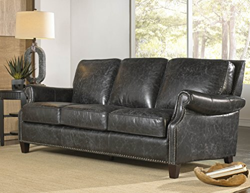 Lazzaro Leather WH-1441-30-9035 Nathan Sofa