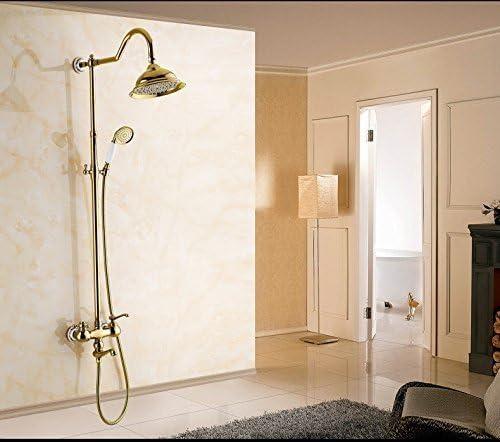 L.I. Zxy-Gold - Disfraz de Ducha para bañera o Ducha, Color Cobre ...