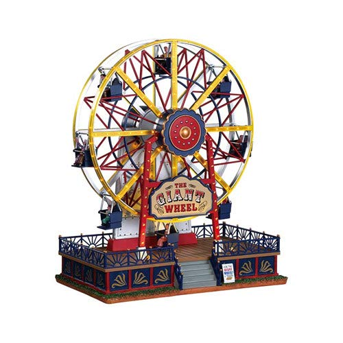 Worlds Fair Ferris Wheel - Lemax Village Collection The Giant Wheel 94482