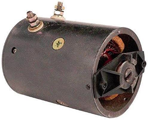 NEW SNOW PLOW MOTOR DUAL POST 21500 452254 FISHER /& WESTERN W//OIL SEAL 12V