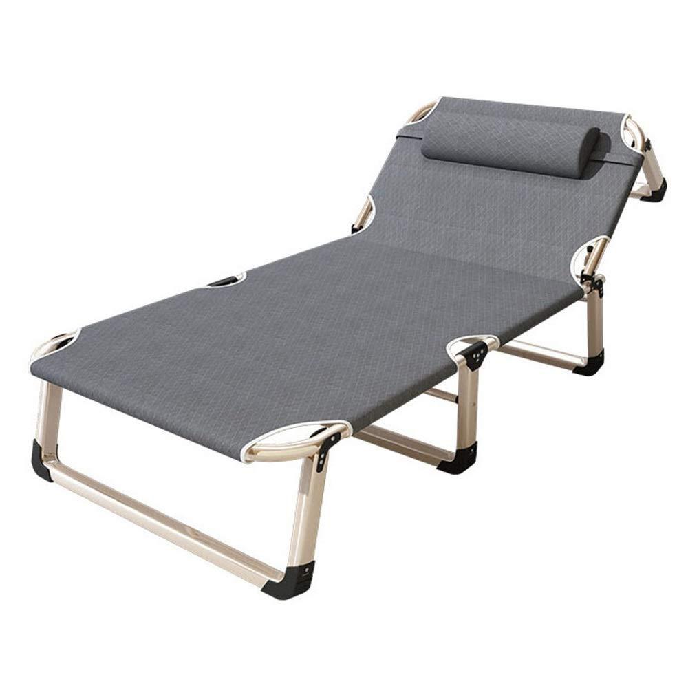 Guolipin Bett & Matratze Sets Haushaltsklappbett Single Office Invisible Bed Tragbares Begleitlager Bold Pipe Rack Mehrzweckklappbett für Camping, Wandern, Trekking, Backpacking