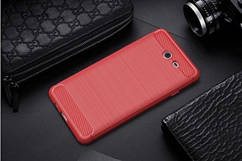 Funda Samsung Galaxy J3 Prime,Funda Fibra de carbono Alta Calidad Anti-Rasguño y Resistente Huellas Dactilares Totalmente Protectora Caso de Cuero Cover Case Adecuado para el Samsung Galaxy J3 Prime D