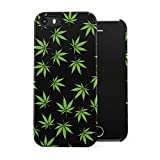 Smoke Weed Marijuana Leaf Pattern Plastic Phone Snap On Back Cover Shell For iPhone 5 & iPhone 5s & iPhone SE
