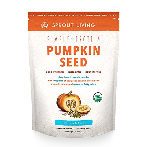 Sprout Living Simple Protein Pumpkin Seed Natural Powder 1 lb
