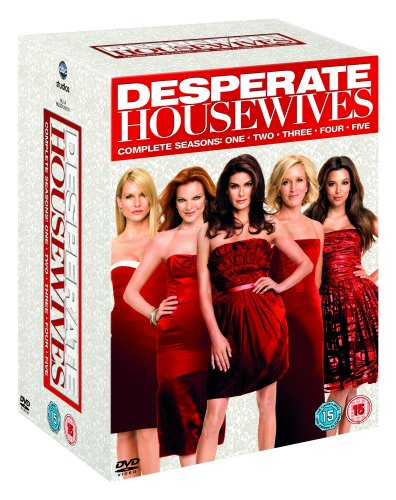 Desperate Housewives - Series 1-5 - Complete [DVD]